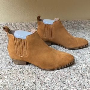 Anthropology Suede Booties by Seychelles